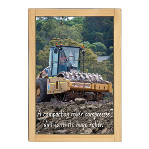 Compaction Roller Large Story Puzzle