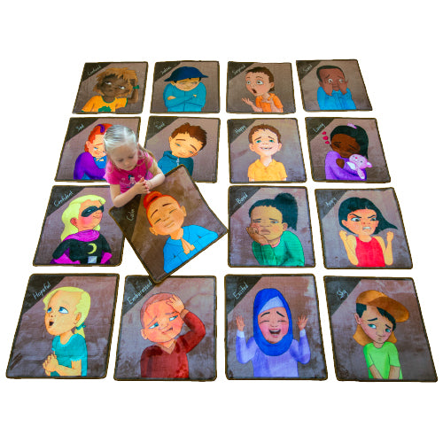 Feelings and Emotions Carpet Squares