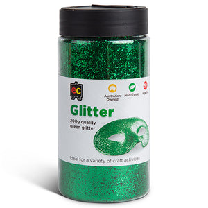 Craft Glitter Green
