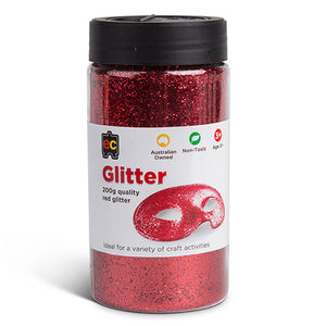 Craft Glitter Red