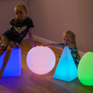 Glowing Shapes Set of 4