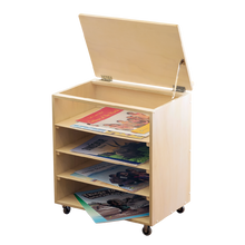 Indigenous Big Book Base (book easel storage unit)