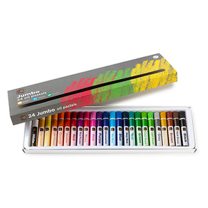Jumbo Oil Pastels Set of 24