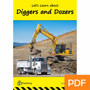 Let's Learn about Diggers and Dozers eBook