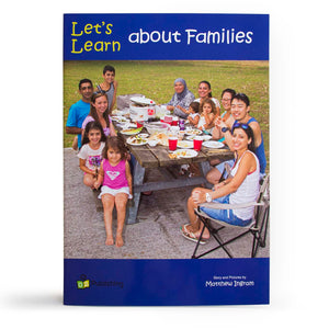 Let's Learn about Families Big Book