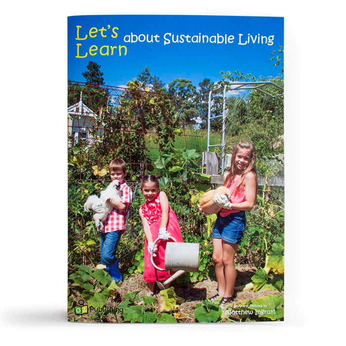 Let's Learn about Sustainable Living Big Book
