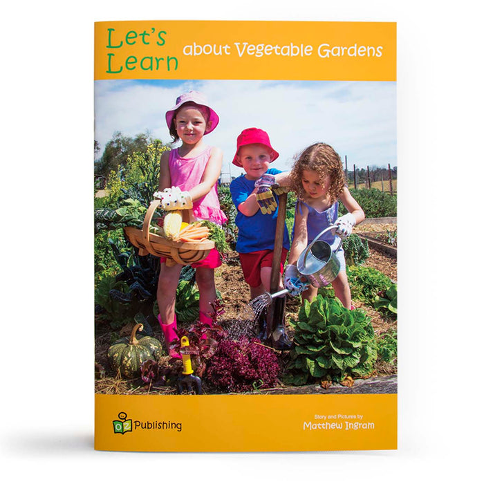 Let's Learn about Vegetable Gardens Big Book