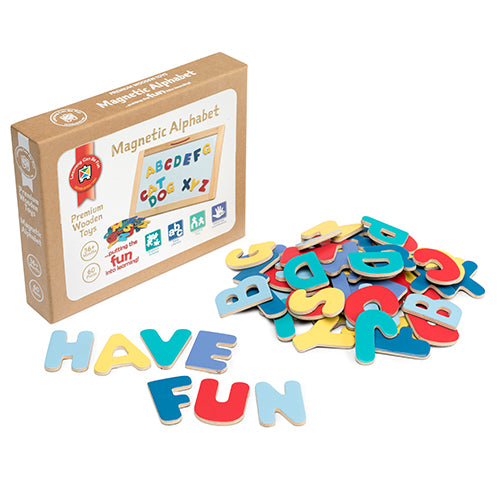 Magnetic Alphabet Set of 60