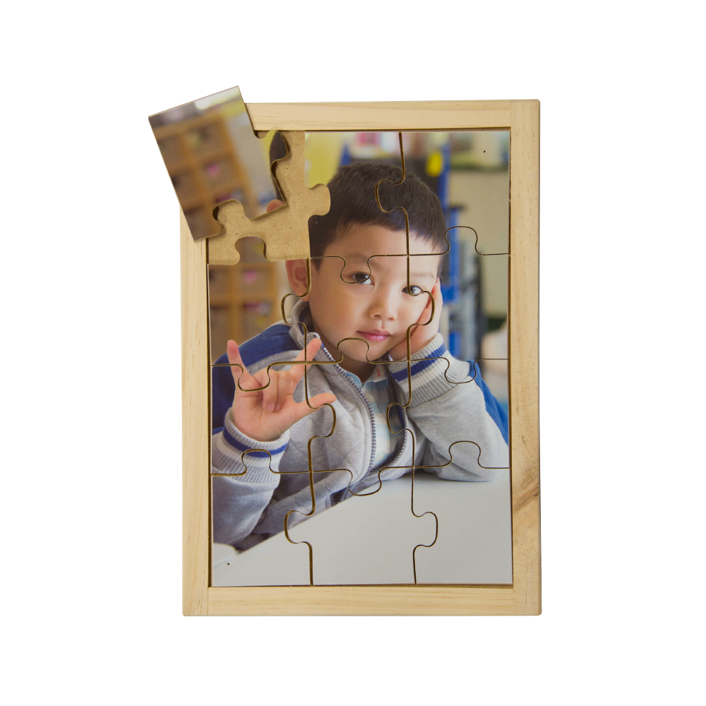 Sign Language Boy Puzzle