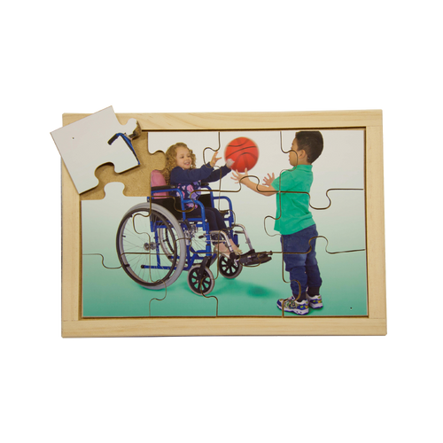 Wheelchair Basketball Puzzle