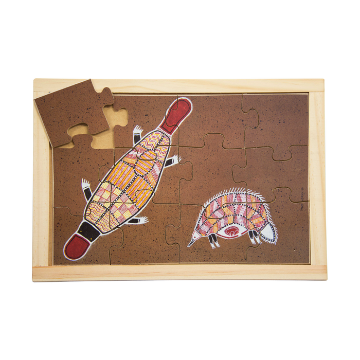 Platypus and Echidna Puzzle