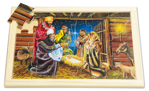 Nativity Scene Large Puzzle