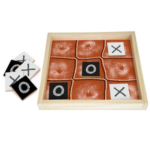 Naughts and Crosses Bush Game