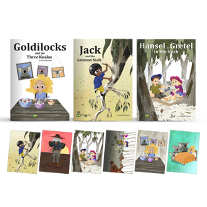 Outback Fairy Tale Big Book Set of 3 - With 6 FREE 'Outback Tales' Posters