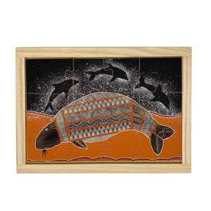Dugong and Dolphins Puzzle
