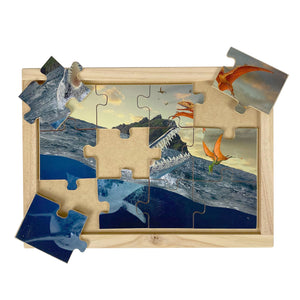 Sea and Flying Reptiles Puzzle