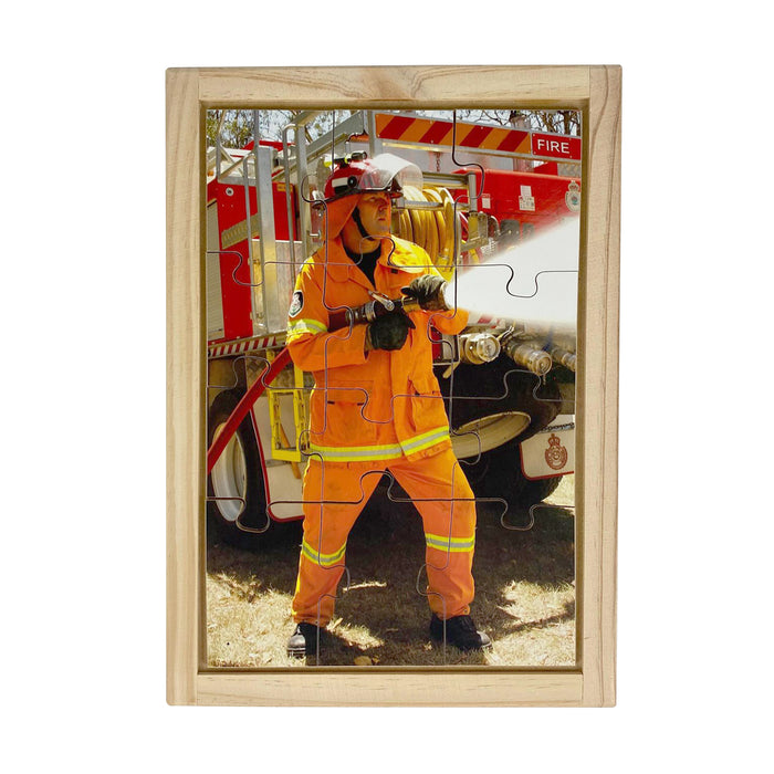 Fire Fighter Puzzle
