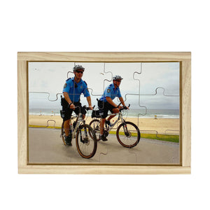 Police on Bicycles Puzzle