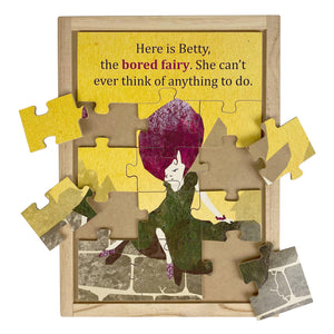 Bored Emotional Fairies Large Story Puzzle