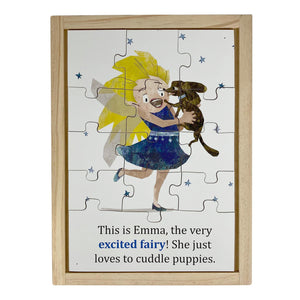 Excited Emotional Fairies Large Story Puzzle