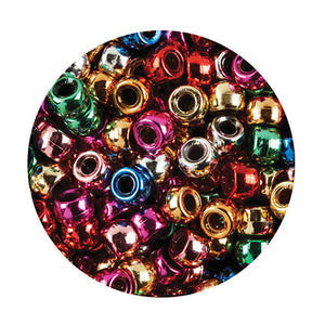 Pony Beads Metallic
