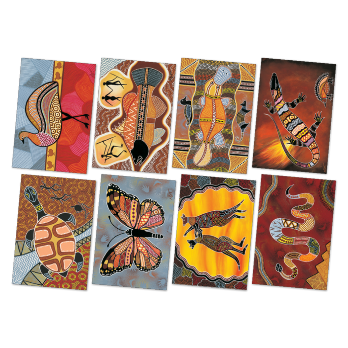 Large Aboriginal Art Poster Pack