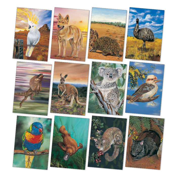 Large Australian Animals Poster Pack