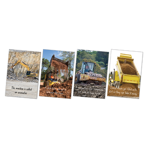 Large Diggers Poster Pack