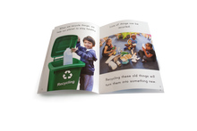 Set of 4 big books - With FREE Recycling Poster Kit