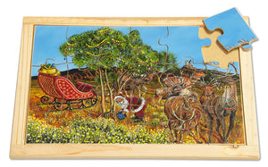 Reindeer in the Outback Large Puzzle