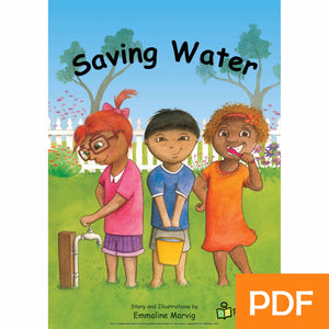 Saving Water eBook
