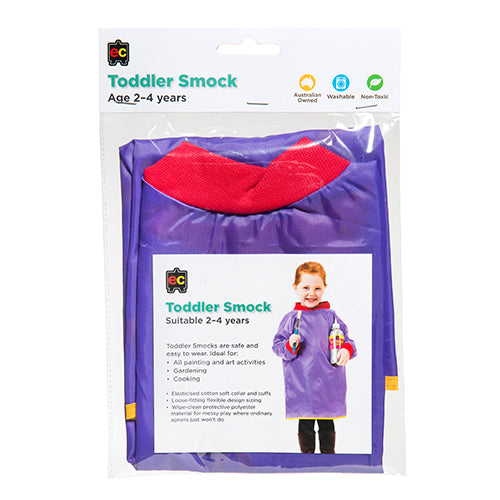 Toddler Smocks Purple