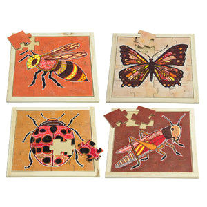 Aboriginal Insect Square Puzzles with FREE Posters