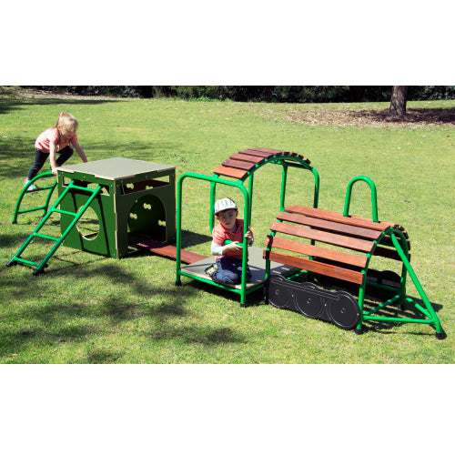 Steam Train and Carriage Playset