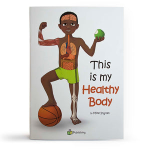 This is my healthy body Big Book with FREE Large anatomy poster!
