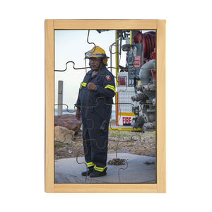 Torres Strait Islander Fire Fighter Puzzle