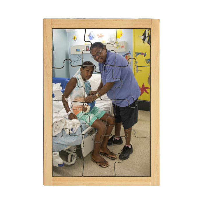 Torres Strait Islander Nurse and Patient Puzzle
