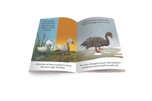 The Ugly Duckling Fairy Tale Big Book