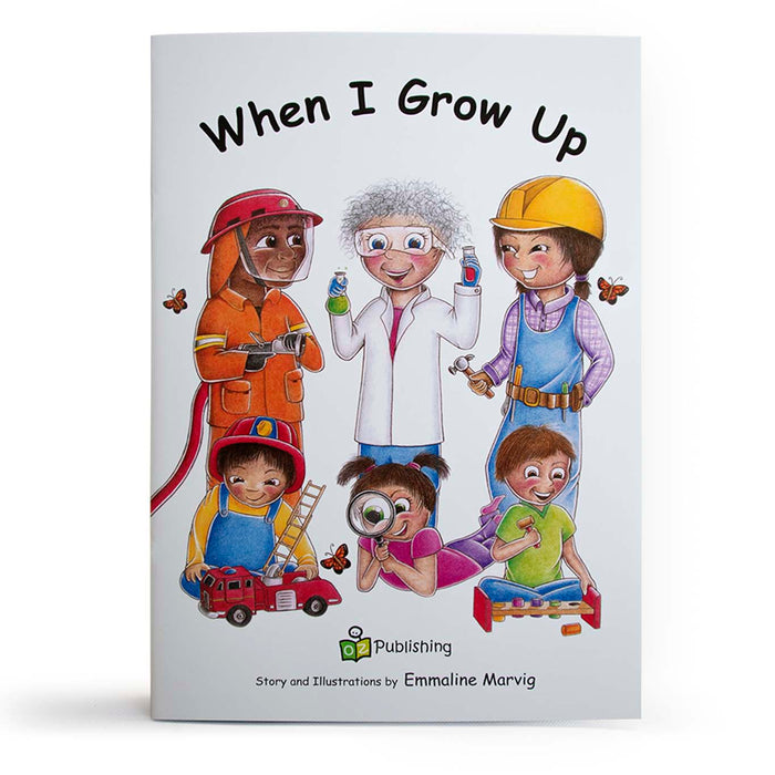 When I Grow Up Big Book