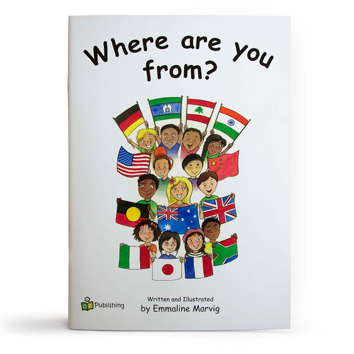 Where are you from Big Book?