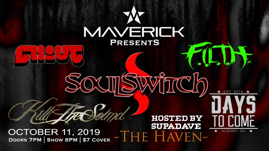 Maverick Announces October Concert