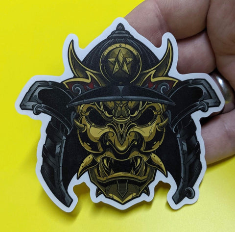Maverick Samurai Sticker