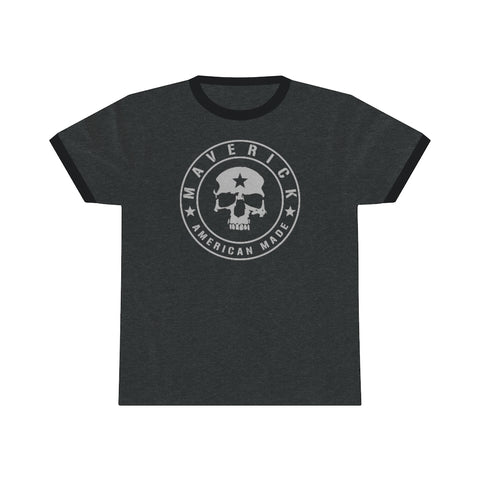 MAVERICK SKULL BADGE RINGER TEE