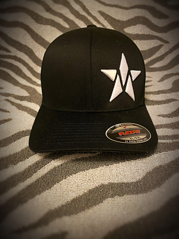 Maverick M-Star FlexFit Hat (Black) ***PREORDER***