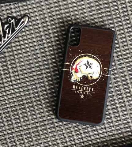 Maverick iPhone Rock Skull Phone Case
