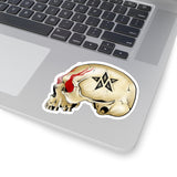 Rock Skull Sticker