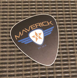 Maverick Guitar Pick Decal
