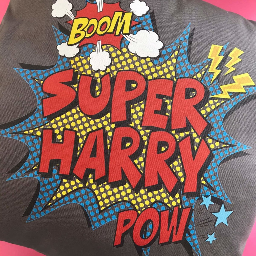 New Product! Our Personalised Super Cushions!