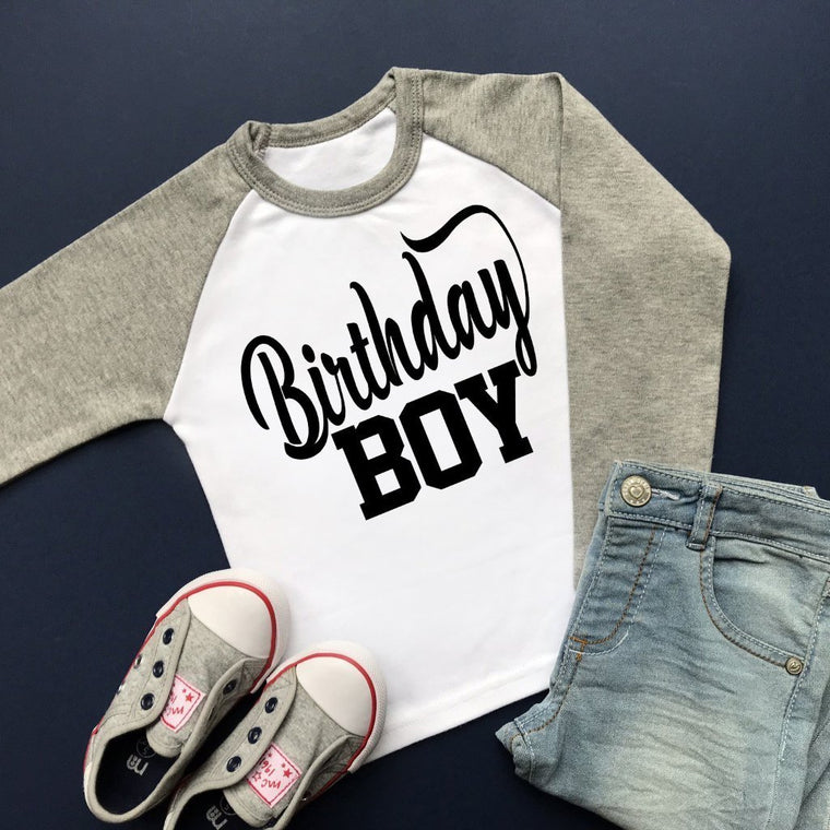 Birthday Boy Raglan