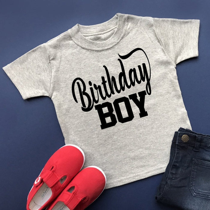 Birthday Boy TShirt - Cotton and Bloom